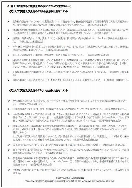 平成28年06月 景気動向調査(付帯調査)②